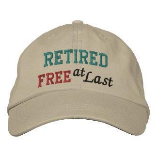 ¡Casquillo del retiro por SRF - libere en el últim Gorras Bordadas
