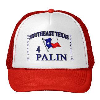 Casquillo del SE Texas4Palin Gorros