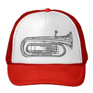 Casquillo del Sousaphone de la tuba o gorra de los
