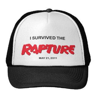Casquillo del superviviente del éxtasis gorras de camionero