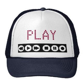 Casquillo del vídeo musical del juego gorras