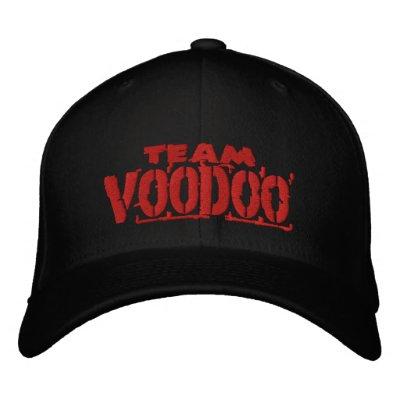 Casquillo del vudú del equipo gorra de béisbol bordada