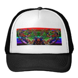 Casquillo determinado del florero de la mujer de l gorras de camionero