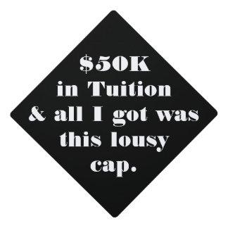 Casquillo divertido del graduado - personalizar