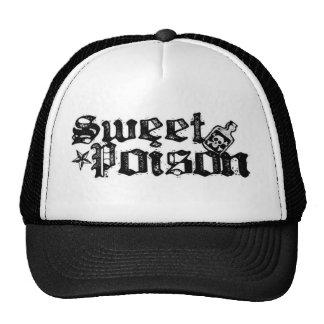 Casquillo dulce del camionero del veneno gorras de camionero