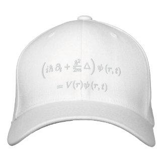 Casquillo, ecuación de onda de Schrodinger, hilo b Gorras Bordadas