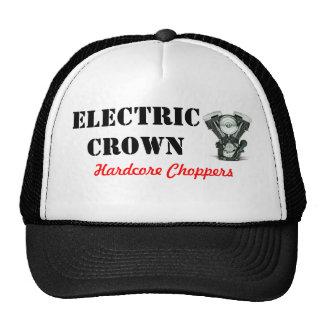 Casquillo eléctrico del camionero de la corona gorra