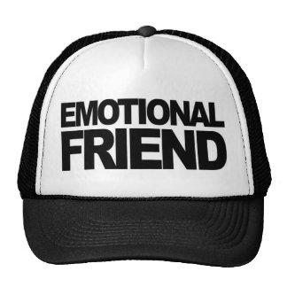 Casquillo emocional del amigo gorras de camionero