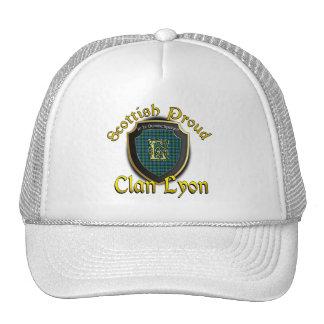 Casquillo escocés de la dinastía de Lyon del clan Gorros