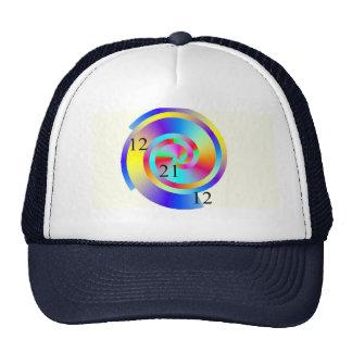 Casquillo espiral cibernético gorras