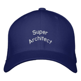 Casquillo estupendo del arquitecto gorra de beisbol