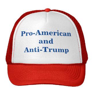 Casquillo Favorable-Americano y del Anti-Triunfo Gorras