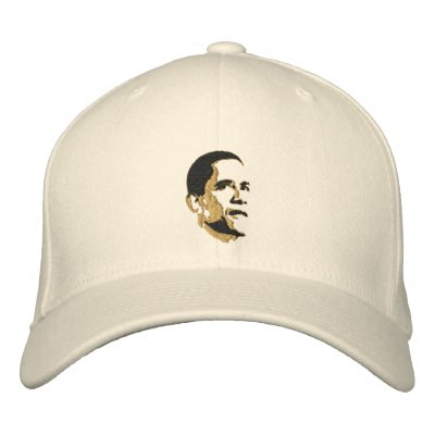Casquillo fresco del oro del arte pop de president gorra de béisbol