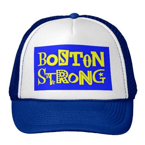 Casquillo fuerte de la bola de Boston, azul Gorras