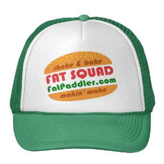 Casquillo gordo del camionero del pelotón gorros