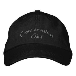 Casquillo/gorra bordados chica conservador gorros bordados