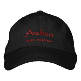 Casquillo/gorra conocidos de Andrea Gorra Bordada