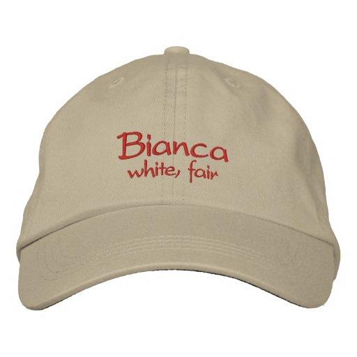 Casquillo/gorra conocidos de Bianca Gorros Bordados