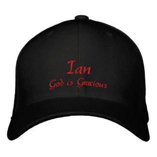 Casquillo gorra conocidos de Ian Gorra De Béisbol Bordada