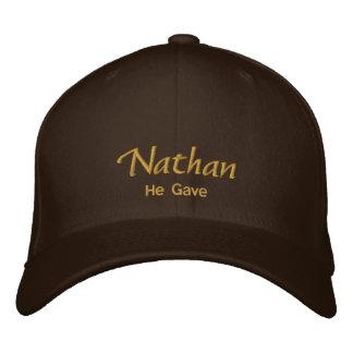 Casquillo/gorra conocidos de Nathan Gorra De Beisbol