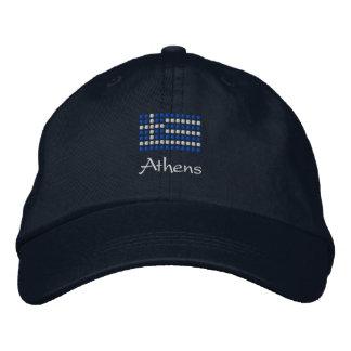 Casquillo griego de Atenas - gorra griego de la ba Gorra De Béisbol Bordada