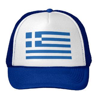 Casquillo griego del gorra el | del camionero de l