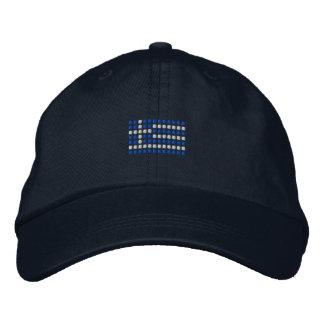 Casquillo griego - gorra griego de la bandera gorra de béisbol bordada