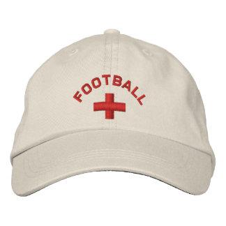 Casquillo inglés del fútbol gorro bordado
