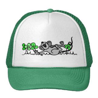 Casquillo irlandés del ratón gorro de camionero