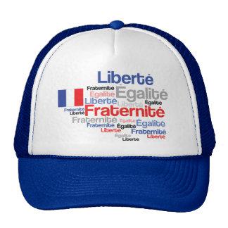 Casquillo Liberté, égalité, fraternité del día de  Gorras