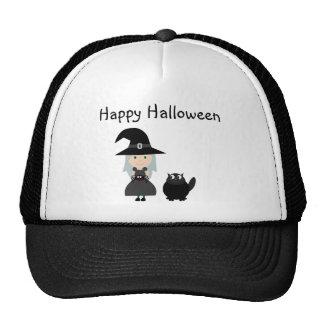 Casquillo lindo de Halloween de la bruja, de la ar Gorro