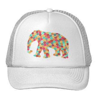 Casquillo lindo del camionero del elefante gorras
