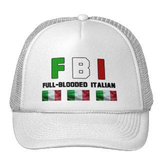Casquillo lleno del italiano de Blooded Gorro