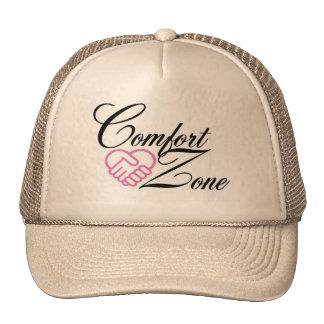 Casquillo - logotipo de la zona de comodidad gorras de camionero