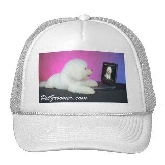 Casquillo - logotipo de PetGroomer.com Gorros Bordados