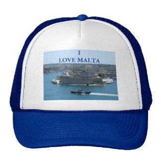 Casquillo magnífico de los camioneros de Malta del Gorras