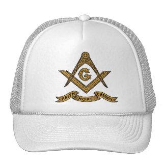 Casquillo masónico del emblema gorros bordados