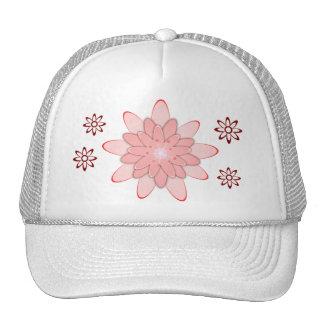 Casquillo máximo del diseño floral de la mujer gorras