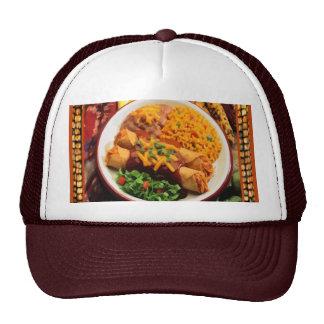 Casquillo mexicano de la cena gorra
