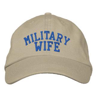 Casquillo militar de la esposa por SRF Gorra De Beisbol Bordada