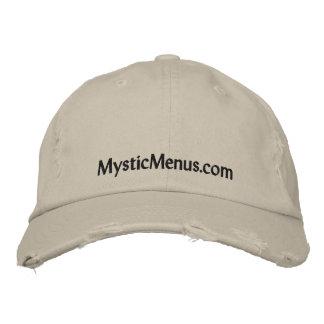 Casquillo místico de los menús gorras de beisbol bordadas