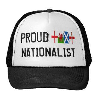 Casquillo NACIONALISTA orgulloso Gorras De Camionero