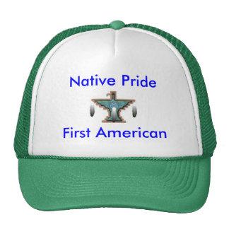 Casquillo nativo del orgullo gorras