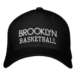 Casquillo negro del baloncesto de BROOKLYN Gorras Bordadas