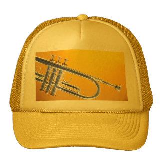 Casquillo o gorra de golf de la trompeta