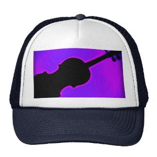 Casquillo o gorra de golf del violín o de la viola