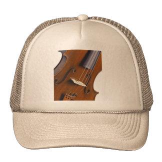 Casquillo o gorra de la imagen del violín