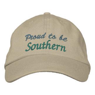 Casquillo - orgullo meridional gorras de beisbol bordadas