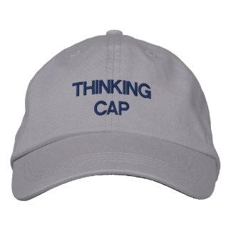 Casquillo para el pensamiento gorra de beisbol bordada