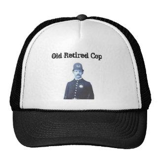 Casquillo para el poli jubilado gorras de camionero